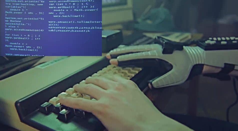 La típica escena de hacking