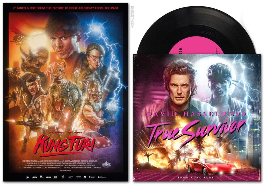 Banda sonora de Kung Fury