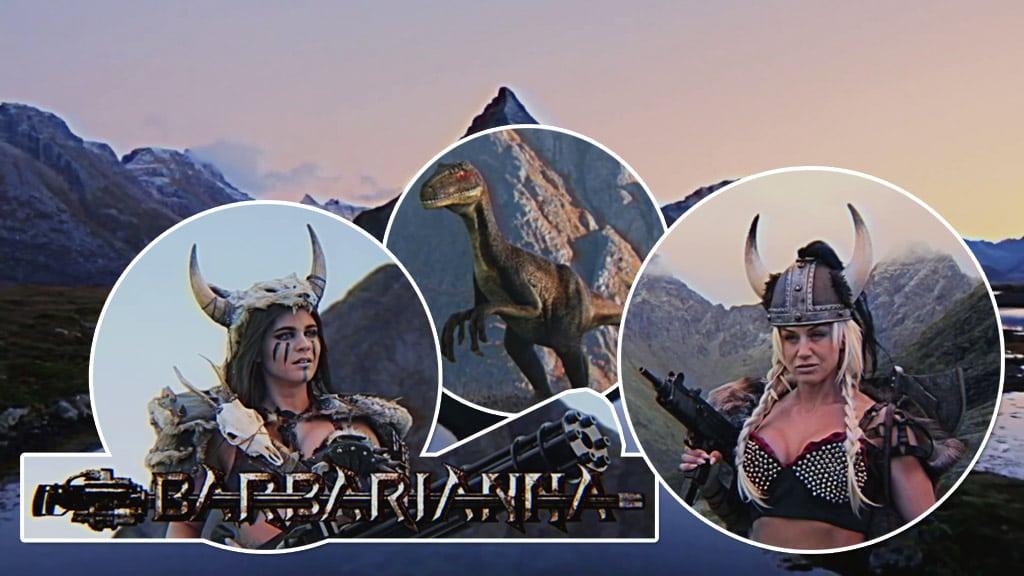 La edad Vikinga: Barbarianna y Katana