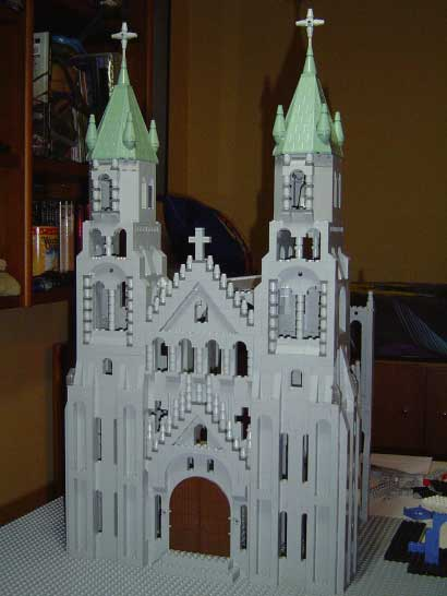 monkey island lechuck church lego