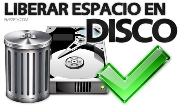 Cómo liberar espacio en disco