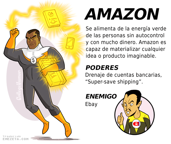 Superhéroes. Liga Justicia Internet: Amazon (Yellow Lantern)