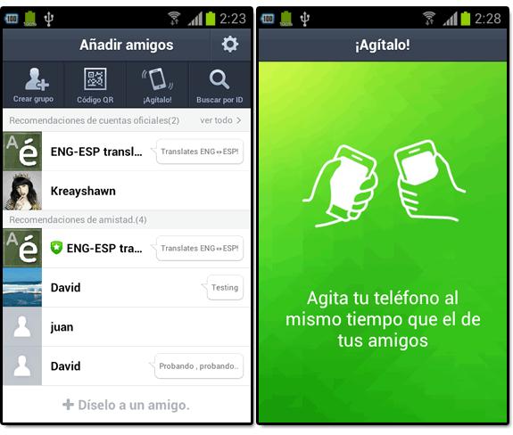 Line (el nuevo WhatsApp): Line agregar amigos