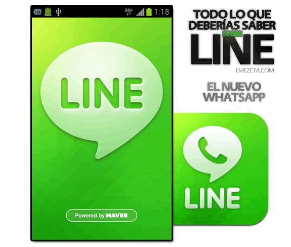 Line (el nuevo WhatsApp): Line nuevo whatsapp