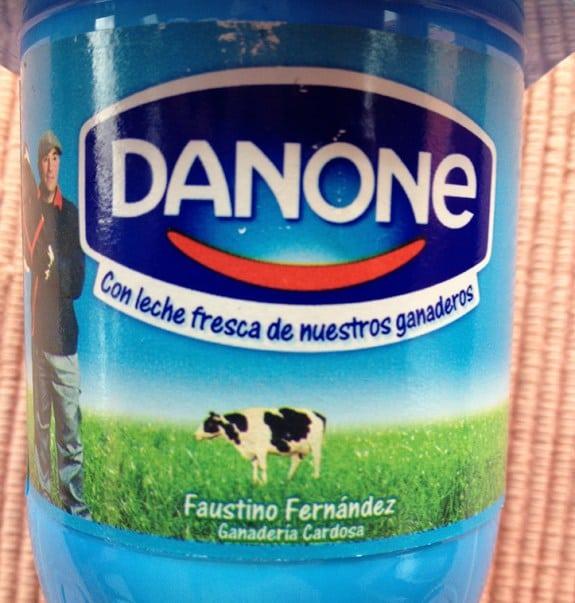 Malinterpretaciones involuntarias: Danone leche ganaderos