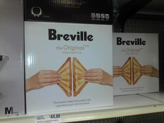 Malinterpretaciones involuntarias: Sandwich breville