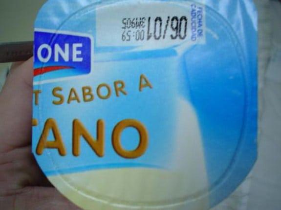 Malinterpretaciones involuntarias: Yogur sabor ano