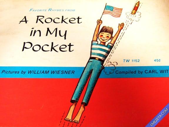 Libros con malinterpretaciones involuntarias: A rocket in my pocket (Un cohete en mi bolsillo)