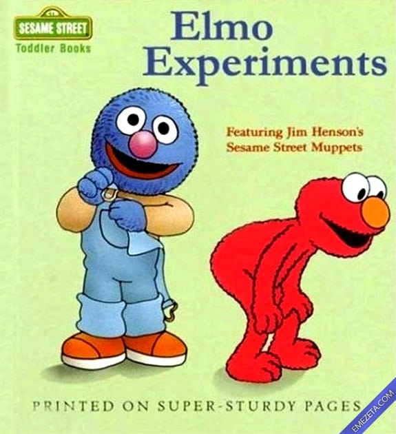 Libros con malinterpretaciones involuntarias: Los experimentos de Elmo