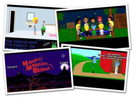 maniac mansion mania episodios