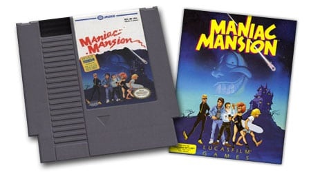maniac mansion nes