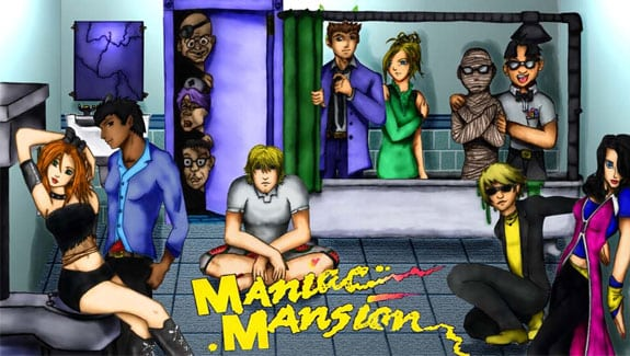 maniac mansion style estilos manga anime new