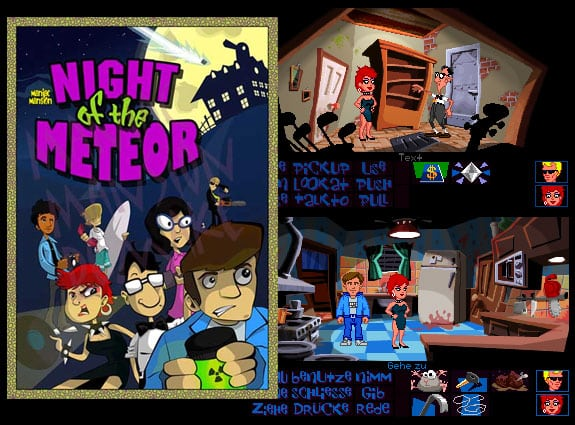 maniac mansion night of the mereor remake dott style