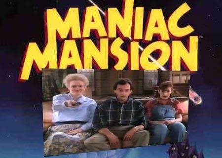 maniac mansion tv show