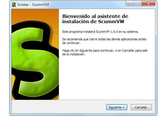 Descargar e instalar ScummVM