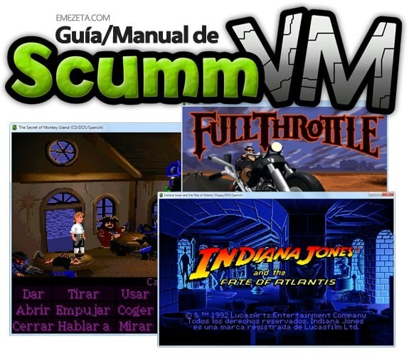 Guía manual de ScummVM: Aventuras gráficas y juegos antiguos