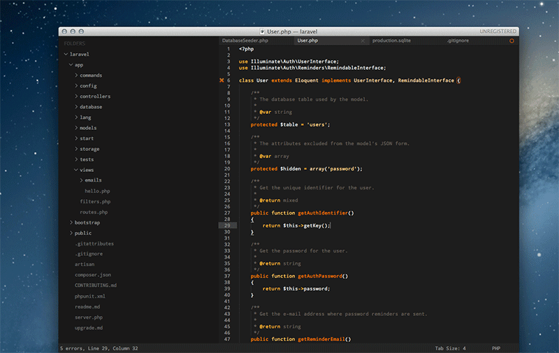 Themes para Sublime Text