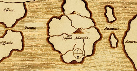 mapa atlántida