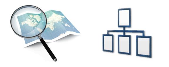 Sitemaps: Mapas de sitio o diagramas de secciones web