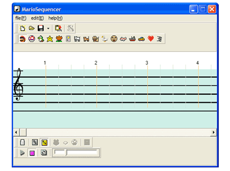 mario paint sequencer