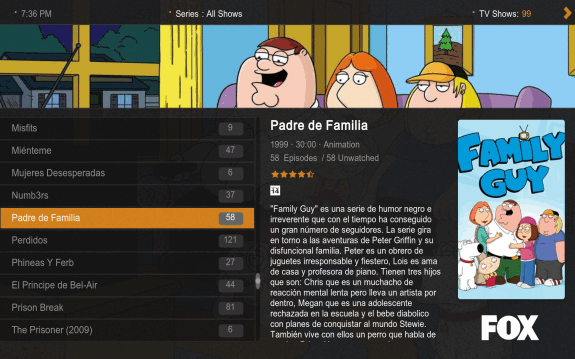 Plex Media Manager: Editar metadatos