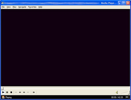 windows media player negro capturar imagen
