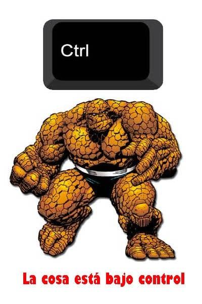 Meme: La Cosa (La Cosa está bajo control)