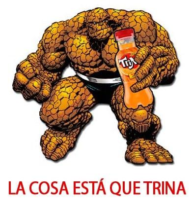Meme: La Cosa (La Cosa está que trina)