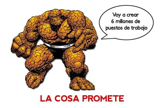 Meme: La Cosa (La Cosa promete)