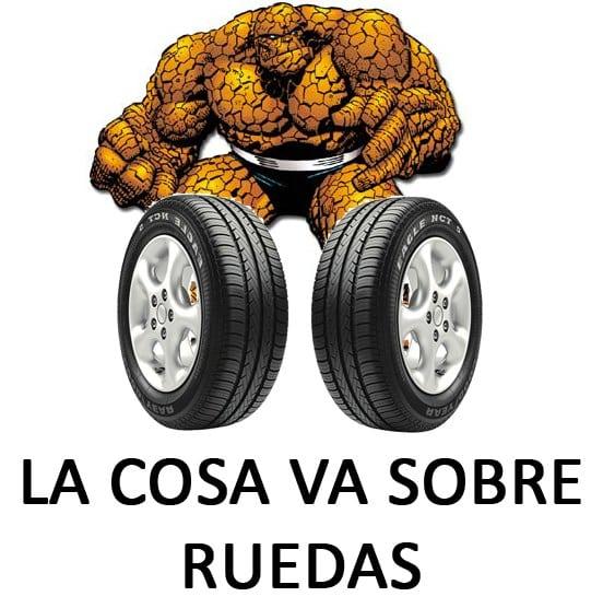 Meme: La Cosa (La Cosa va sobre ruedas)