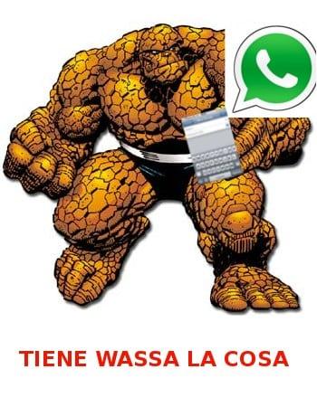 Meme: La Cosa (Tiene guasa La Cosa)