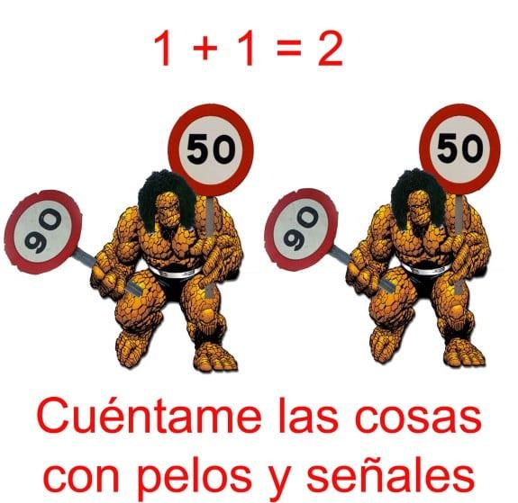 Meme: La Cosa (Cuentame La Cosa con pelos y señales)