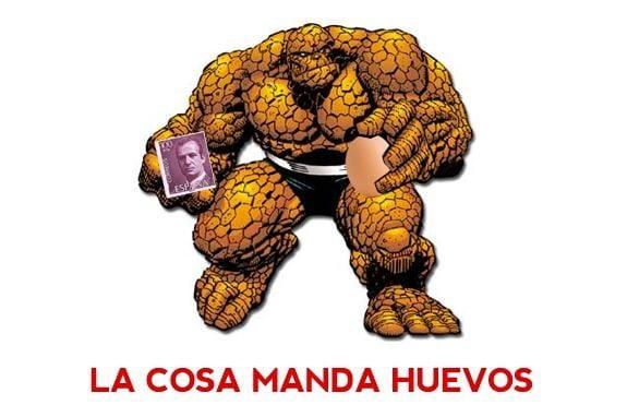 Meme: La Cosa (La Cosa manda huevos)