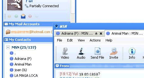 trillian msn messenger