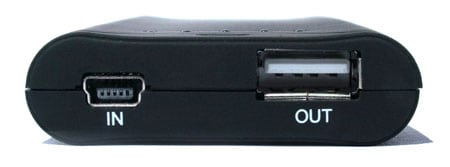 microkit proporta cargador usb portatil frontal in out