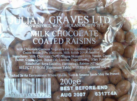 milk chocolate sql pasas