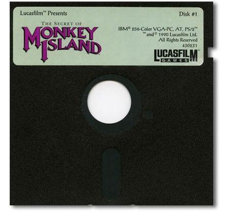 monkey island disk