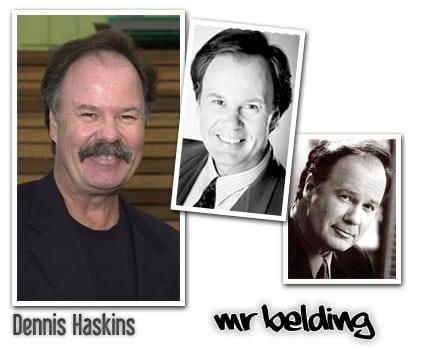 mr richard belding dennis haskins salvados por la campana