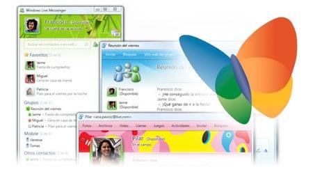 windows live messenger 2009 msn 9.0 logo