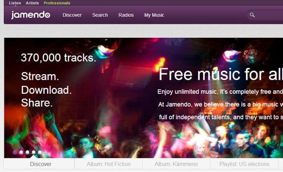 jamendo escuchar musica internet gratis