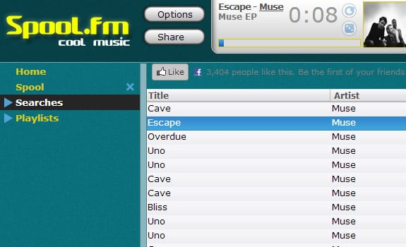 spool fm escuchar musica internet gratis