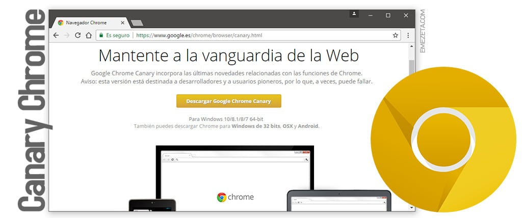 Canary Chrome