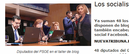 news psoe blogs titulares
