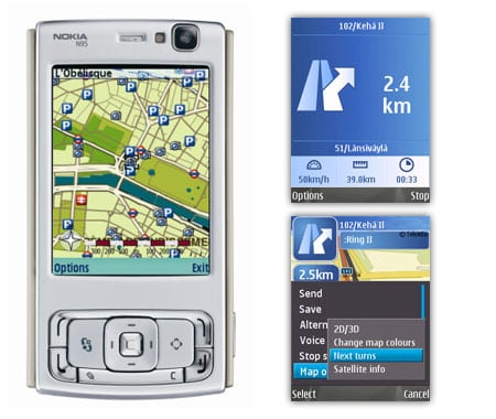 nokia maps gps movil