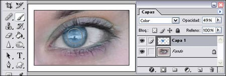 ojo rojo eliminar efecto