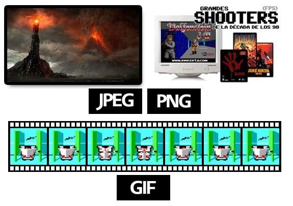 Optimizar imágenes: ¿Qué formato utilizo? ¿JPG, PNG o GIF?