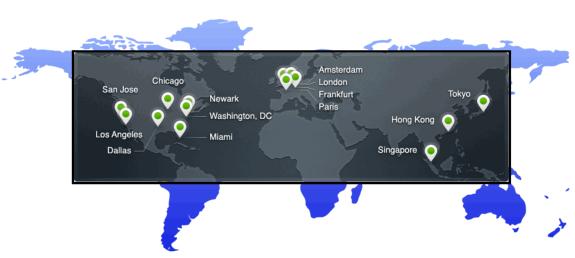 Datacenters del CDN Cloudflare