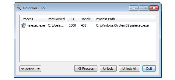 Unlocker: Desbloquear archivos que están siendo usados