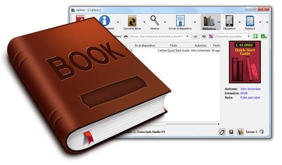 Calibre Gestor de eBooks en PDF, EPUB, MOBI, DOC, RTF, CHM