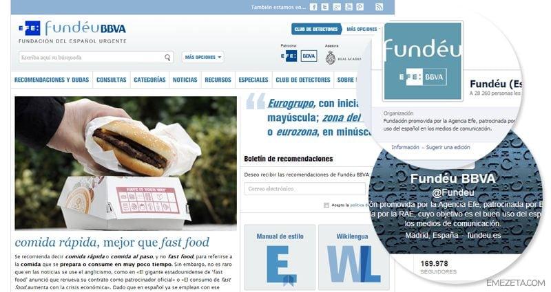 Fundéu: Fundación del español urgente